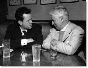 Brown Derby Welles and Chaplin