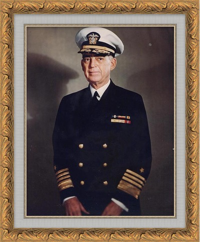 US Navy Fleet Admiral Thomas C. Kinkaid