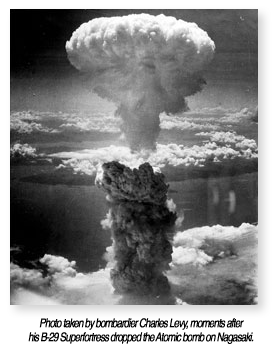 Atomic bomb on Nagasaki 1945