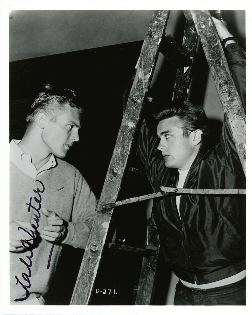 Tab Hunter Signed Photo Autographed Signature With James