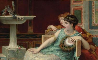 Roberto Bompiani - Two Pompeian Ladies
