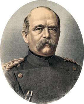 German Chancellor Otto von Bismarck